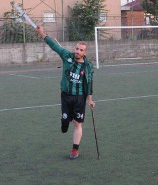 Kazada bacağını kaybetti hedefi 'Ampute Milli Takım'