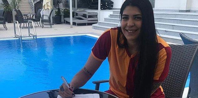 Fenerbahçe'den Galatasaray'a...  Tilbe Şenyürek imzayı attı!! Son dakika haberleri...