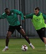 Bursaspor'da G.Saray maçı hazırlıkları sürdü