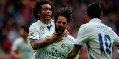 Real Madrid 90'da güldü
