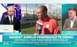 """""""Mehmet Aurelio takımın başında sahaya çıkabilecek"""""""