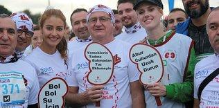 İstanbul Maratonu'nda bağış rekoru kırıldı