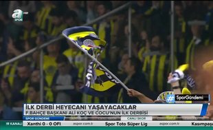 Sezonun ilk derbisi Kadıköy'de