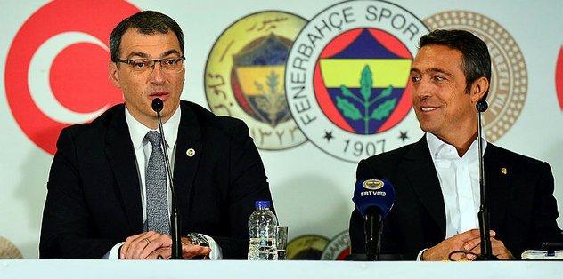 Fenerbahçe Başkanı Ali Koç ve Damien Comolli imza töreninde konuştu