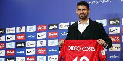 Atletico Madrid, Costa ve Vitolo'yu basına tanıttı