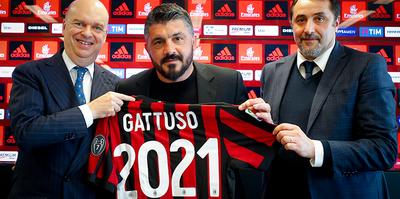 Milan, Gattuso'nun sözleşmesini uzattı