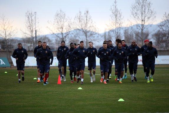 Kayserispor'da Bursaspor maçı mesaisi başladı