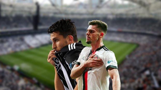 Beşiktaş'ta uğurlu ikili geri döndü! Necip ve Montero...
