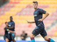 Trabzonspor'da Sörloth taraftarları mest etti