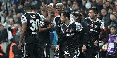 Beşiktaş şut ortalamasında da lider
