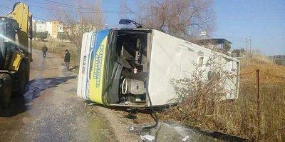 Buca'da korkutan kaza