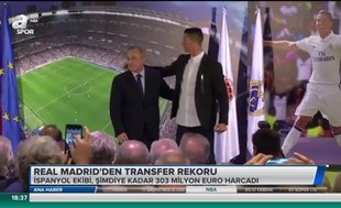 Real Madrid'den transfer rekoru