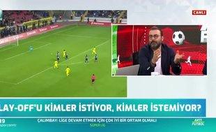 Canlı yayında açıkladı! ''Süper Lig 1 ayda bitebilir''