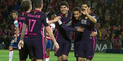 Barcelona takibi sürdürdü