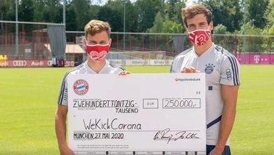Bayern Münih maske satışından elde ettiği 250 bin euroyu bağışladı