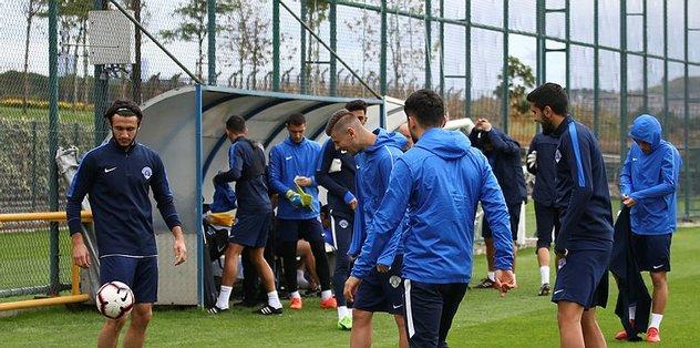 Kasımpaşa, Kayserispor maçının hazırlıklarına başladı