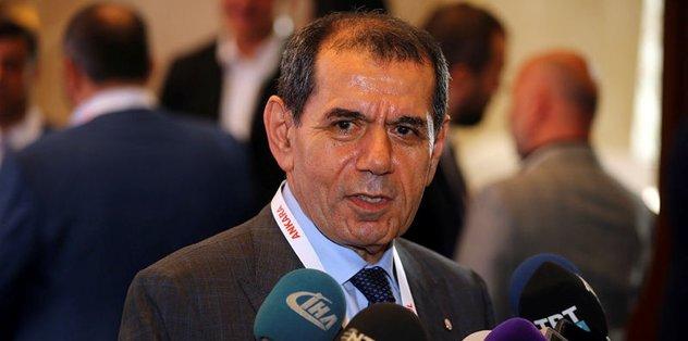 Dursun Özbek'ten transfer açıklması