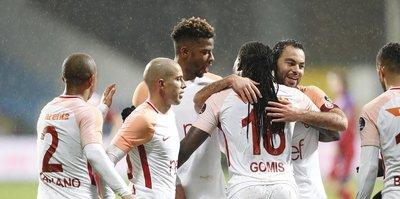 Galatasaray, lig tarihindeki farklı skorlarından birine imza attı
