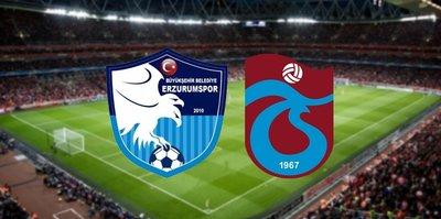 BB Erzurumspor - Trabzonspor | CANLI