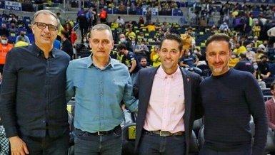Fenerbahçe'nin hocaları basketbol maçında buluştu!