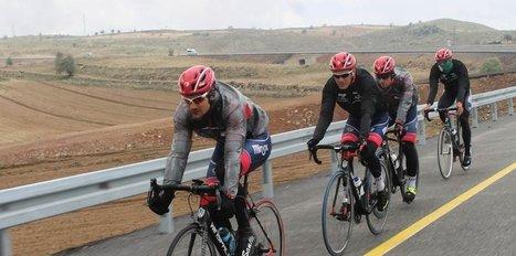 Bisiklet takımları kamp için Erciyes'i tercih ediyor