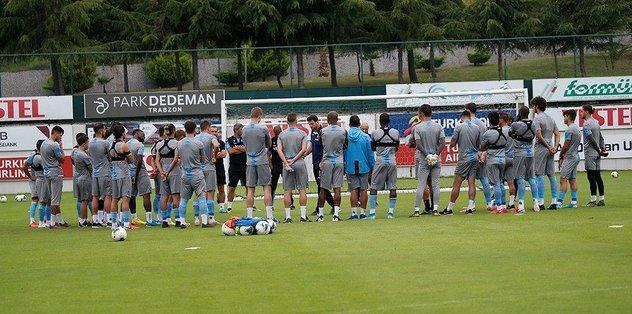 Trabzonspor'da Konyaspor maçı hazırlıkları - teklif -