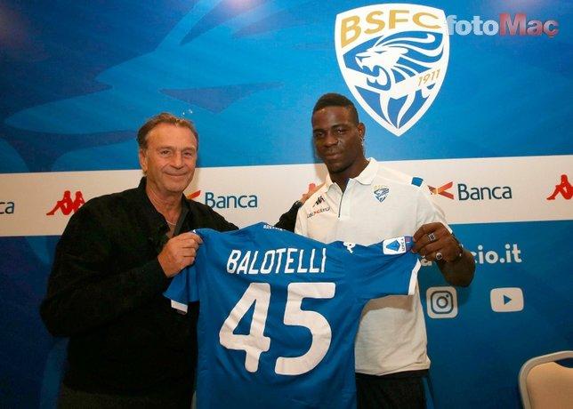 Brescia Başkanı Cellino'dan flaş Balotelli açıklaması! Ocakta...
