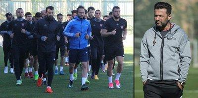 Galatasaray maçı hazırlıkları sürdü