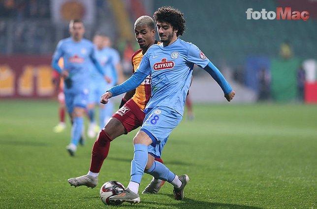Galatasaray tura kilitlendi! İşte Fatih Terim'in Çaykur Rizespor maçı 11'i