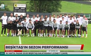 Beşiktaş'ın sezon performansı