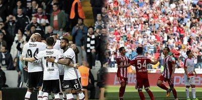 Beşiktaş ile Sivasspor 23. randevuda