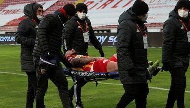 Alibec'ten Kayserispor'a kötü haber! 2-3 hafta yok
