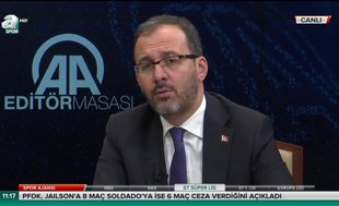 Spor Bakanı Kasapoğlu'ndan Altınordu'ya övgü!