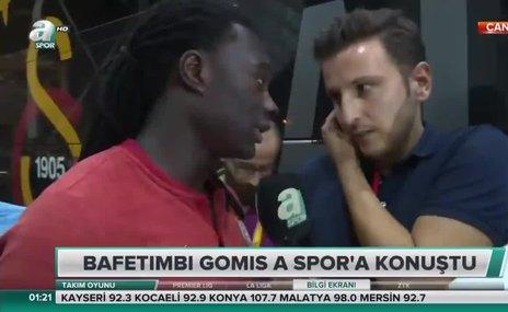 """Gomis A Spor'a konuştu! """"Yedek kaldım çünkü..."""""""