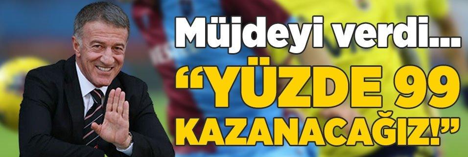 ahmet agaogludan fenerbahce maci ve uefa aciklamasi yuzde 99 kazaniriz 1592299845600 - Son dakika: Trabzonspor'dan KAP bildirimi geldi! CAS başvurusu...