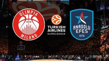 Olimpia Milano - Anadolu Efes | CANLI