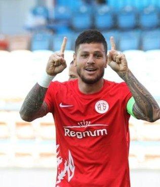 Diego Antalyaspor'a veda etti!