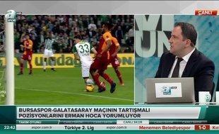 """Erman Toroğlu: """"Net penaltı"""""""