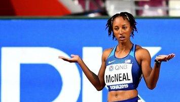 McNeal'a atletizmden geçici men cezası