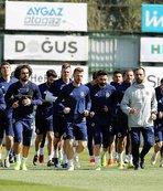 Fenerbahçe Ankaragücü maçı hazırlıklarını sürdürdü