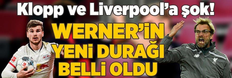 Klopp ve Liverpool'a şok! Werner'in yeni durağı belli oldu