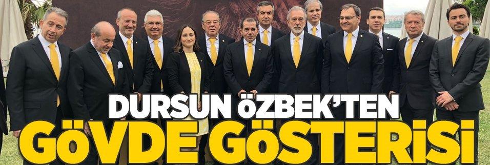 """Dursun Özbek: """"Üreten Galatasaray'ı inşa edeceğiz"""""""