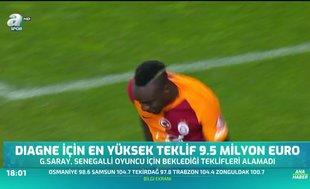 Diagne için en yüksek teklif 9.5 milyon euro