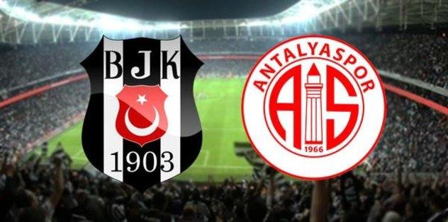 Beşiktaş seri peşinde! Beşiktaş - Antalyaspor muhtemel 11'ler