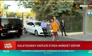 Galatasaray kafilesi stada hareket etti