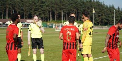 Gaziantep Gazişehir ve El Wakrah arasında maç yarıda kaldı!
