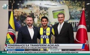 Fenerbahçe ilk transferini yaptı | Video