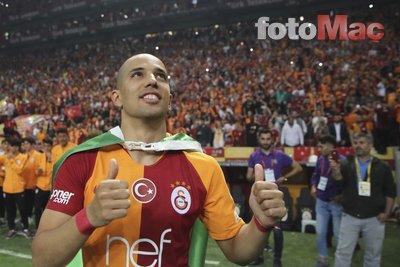 Galatasaray'da Feghouli'den Gomis ve Diagne kıyaslaması!