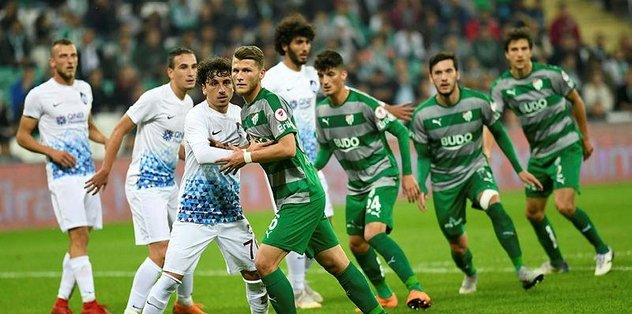 Bursaspor kupada yine kayıp