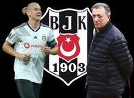 Beşiktaş'ta büyük deprem! Ahmet Nur Çebi ve Domagoj Vida...